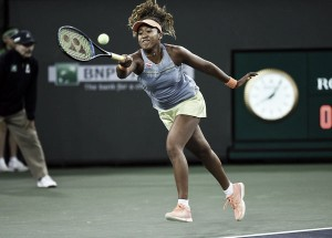 WTA Indian Wells: Naomi Osaka stuns Maria Sharapova in straight sets