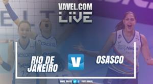 Resultado Rio de Janeiro x Osasco pela semifinal da Copa Brasil de Vôlei (1-3)