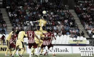 Resultado Osasuna - Almería en Liga Adelante 2016 (0-0): trabajado punto en El Sadar