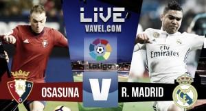 Resumen Osasuna 1-3 Real Madrid en La Liga 2017