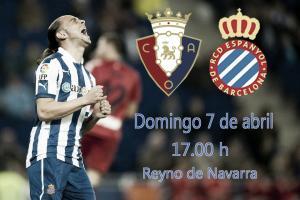 Osasuna - Espanyol: el camino para firmar la permanencia
