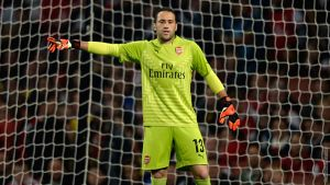 "David Ospina: ""Every bit of me will give its best in training."""