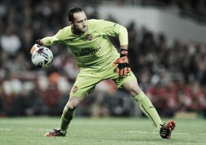 David Ospina ruled out for up to three months