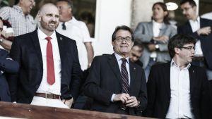 Otamendi deja el Girona: adiós al quinto presidente