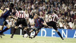 El Athletic - Barcelona en números