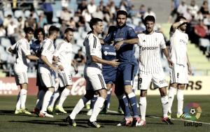 Real Oviedo y Getafe cinco meses atrás