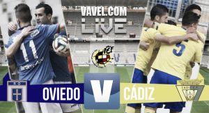 Resultado Real Oviedo - Cádiz en los Playoffs de Segunda B 2015 (1-1)
