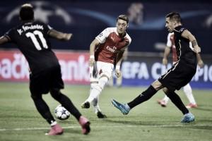 Risultato Arsenal - Dinamo Zagabria di Champions League 2015/16 (3-0): la sblocca Ozil, poi si scatena Sanchez