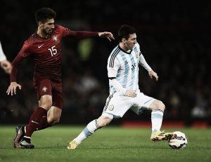 Com gol no acréscimos, Portugal vence Argentina em amistoso