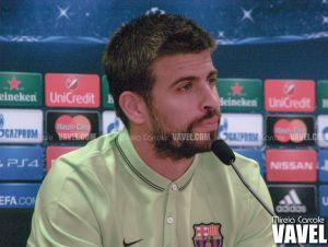 """Piqué: """"Es importante ganar para encarar la Champions con tranquilidad"""""""