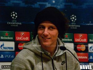 """David Luiz: """"Messi ha metido muchos goles, mañana puede descansar"""""""
