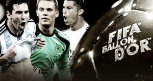 Pallone d'oro 2014: Messi, Cristiano Ronaldo e Neuer i tre finalisti