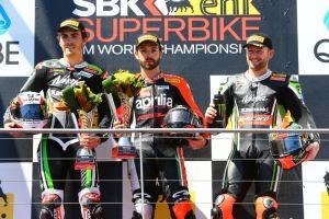 Superbike, Laverty e Guintoli si dividono le gare di Phillip Island