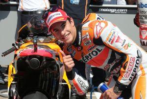 Sachsenring, nove su nove per Marc Márquez