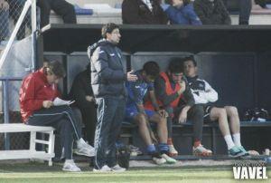 """Pablo Franco: """"Salvo a balón parado, hemos hecho un trabajo correcto"""""""