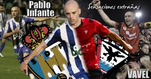 Pablo Infante, sensaciones extrañas