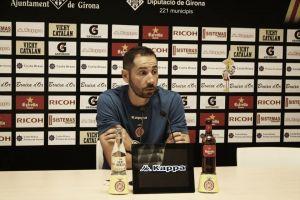 """Pablo Machín: """"El mejor Girona todavía tiene que llegar"""""""