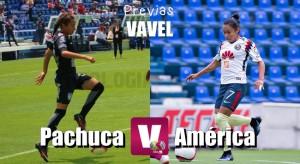 Previa Pachuca - América Femenil: El liderato en juego