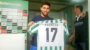 """Pacheco: """"Llego a un sitio gigante, a un club muy grande"""""""