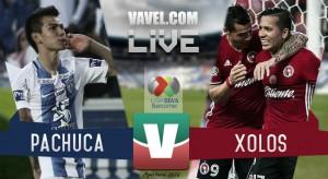Xolos escapa con empate de último minuto frente a Pachuca
