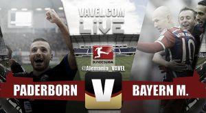 Resultado Paderborn vs Bayern de Múnich (0-6) en Bundesliga 2015