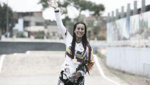 Mariana Pajón comanda la Copa Francia BMX