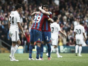 Crystal Palace 1-0 Swansea City: Eagles celebrate season with victory over poor Swans