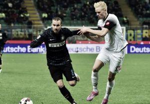 Il Cesena blocca l'Inter: 1-1 a San Siro tra sfortuna e svogliatezza