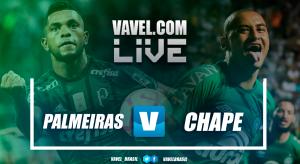 Resultado Palmeiras x Chapecoense pelo Campeonato Brasileiro (0-0)