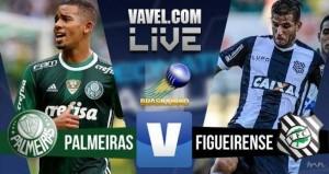 Resultado Figueirense x Palmeiras no Brasileirão 2016 (1-2)