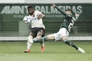 Em jogo de seis expulsões, Palmeiras e Flamengo empatam em jogo elétrico no Allianz Parque