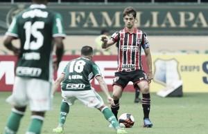"""Após derrota, Ceni parabeniza Dudu pelo belo gol """"Temos que valorizar, foi muito feliz"""""""