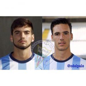 El Palo incorpora a dos perlas de la cantera del Málaga CF