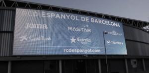 Powerpixxel ilumina el gol Prat del RCDE Stadium