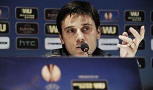 """Europa League, Montella: """"Domani giocherà la formazione migliore come sempre"""""""