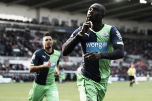 Swansea 2-2 Newcastle: Papiss Cisse saves the Toon