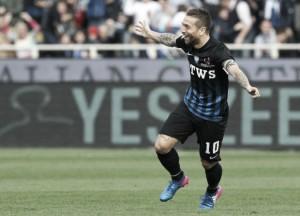 Serie A - Gomez stende il Chievo: Atalanta quarta per una sera