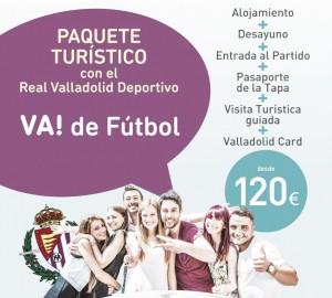 Turismo y fútbol, juntos por Valladolid