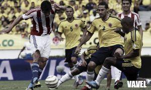 Los números que han dejado los partidos Paraguay - Colombia