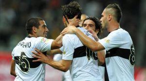 El Parma se estrena en la fiesta del gol