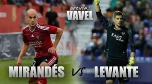 Previa CD Mirandés vs Levante UD