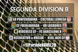El Partido VAVEL: Segunda División B, jornada 2