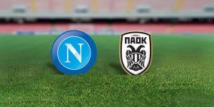 Il Napoli sfida il Paok alla prima al San Paolo