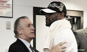Reunión entre LeBron James y Pat Riley para decidir sobre su futuro