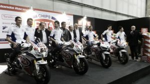 Superbike 2015, presentato a Verona il Pata Honda Team
