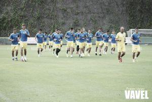Fotogalería del entrenamiento de la UD Las Palmas (10-10-2014)