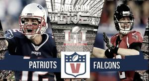 New England Patriots vs Atlanta Falcons en la Super Bowl 2017