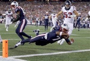 Los Patriots superan a los Texans