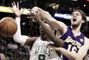 Celtics - Lakers, un clásico en horas bajas
