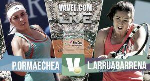 Paula Ormaechea vs Lara Arruabarrena en vivo y en directo online en Copa Federación 2015